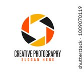 creative photography logo | Shutterstock .eps vector #1009070119