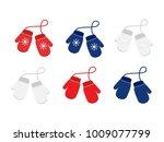 raster set illustration pair of ... | Shutterstock . vector #1009077799