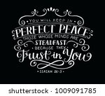 hand lettering you will keep in ... | Shutterstock .eps vector #1009091785
