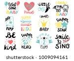 12 children logo with... | Shutterstock .eps vector #1009094161