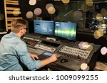 music  technology  people and... | Shutterstock . vector #1009099255