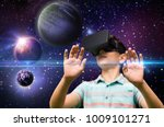 childhood  augmented reality ... | Shutterstock . vector #1009101271