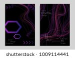 abstract banner template with... | Shutterstock .eps vector #1009114441