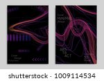 abstract banner template with... | Shutterstock .eps vector #1009114534