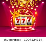 big win slots 777 banner casino.... | Shutterstock .eps vector #1009124314