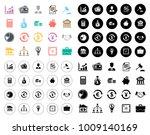 finance icons set | Shutterstock .eps vector #1009140169