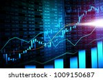 stock market or forex trading... | Shutterstock . vector #1009150687