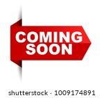 banner coming soon | Shutterstock .eps vector #1009174891