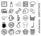 single icons. set of 25... | Shutterstock .eps vector #1009175455