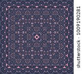 square pattern for the silk... | Shutterstock .eps vector #1009190281