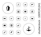 editable vector antique icons ...   Shutterstock .eps vector #1009191241