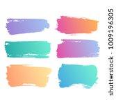grunge bright gradient...   Shutterstock . vector #1009196305