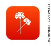 carnation icon digital red for... | Shutterstock .eps vector #1009196635