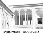 blur in iran the antique royal... | Shutterstock . vector #1009199815