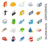 feature icons set. isometric... | Shutterstock .eps vector #1009200451