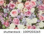flower backgrounds   vintage... | Shutterstock . vector #1009203265