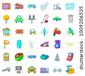 automatic instrument icons set. ...   Shutterstock .eps vector #1009206535