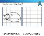 printable drawing worksheet | Shutterstock .eps vector #1009207057