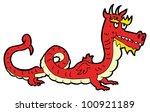 cartoon chinese dragon   Shutterstock . vector #100921189