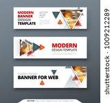 banner design vector abstract... | Shutterstock .eps vector #1009212289