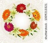 illustration of greeting or... | Shutterstock .eps vector #1009213321
