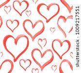 heart love shape pattern set...   Shutterstock .eps vector #1009217551