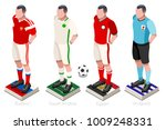 soccer world cup a group of... | Shutterstock .eps vector #1009248331