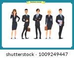 business people teamwork ... | Shutterstock .eps vector #1009249447