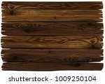 wooden sign. photorealistic... | Shutterstock .eps vector #1009250104