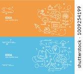 flat colorful design concept...   Shutterstock .eps vector #1009254199