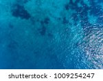 Aerial View On Turquoise Waves...