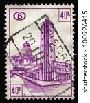 belgium   circa 1960s  a stamp... | Shutterstock . vector #100926415