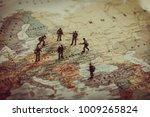 ukraine  russia and eurounion... | Shutterstock . vector #1009265824
