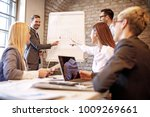 creative business team working... | Shutterstock . vector #1009269661