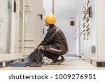 electrician engineer tests...   Shutterstock . vector #1009276951