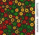 red  yellow  green reggae... | Shutterstock .eps vector #1009297771