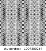 ethnic tile. pattern from... | Shutterstock .eps vector #1009300264