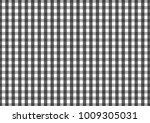 firebrick gingham black and... | Shutterstock .eps vector #1009305031