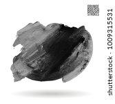 grey brush stroke and texture.... | Shutterstock .eps vector #1009315531