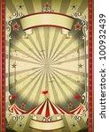strange circus. a circus... | Shutterstock . vector #100932439