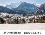 little village mojstrana below... | Shutterstock . vector #1009333759