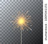 vector modern sparkler on...   Shutterstock .eps vector #1009341151