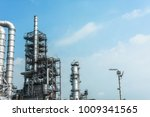 close up industrial zone. plant ... | Shutterstock . vector #1009341565