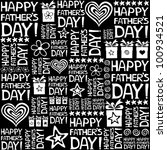 happy father day. seamless... | Shutterstock . vector #100934521