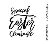 special easter clearance card... | Shutterstock .eps vector #1009362319