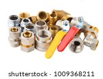 plumbing fitting and tap ... | Shutterstock . vector #1009368211