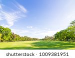 park with sunshine day in the...   Shutterstock . vector #1009381951