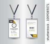 yellow   black template staff... | Shutterstock .eps vector #1009385071