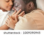 african american man sleeping...   Shutterstock . vector #1009390945