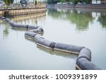 buoys on the river. | Shutterstock . vector #1009391899